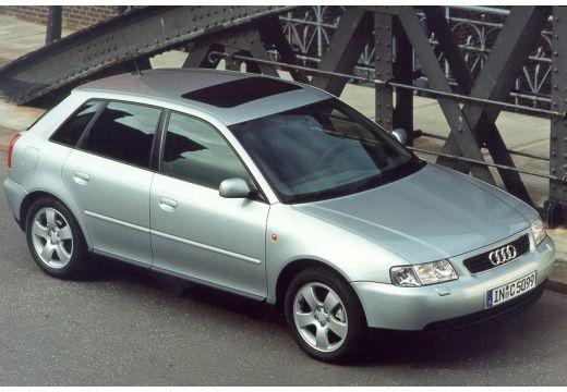 AUDI A3 /S3 8L I hatchback silver grey przedni prawy