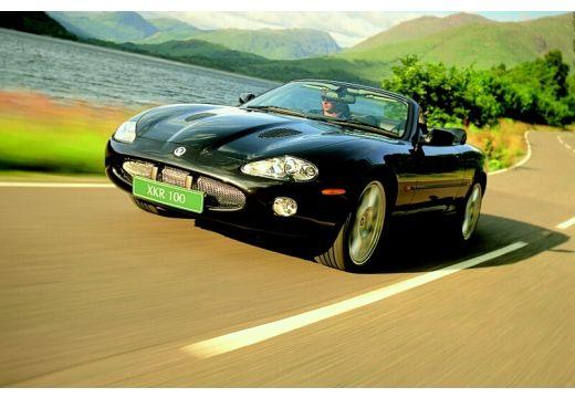 JAGUAR XK8 kabriolet czarny przedni lewy