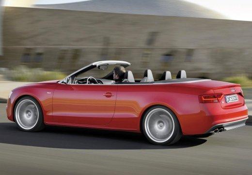 AUDI A5 Cabriolet II kabriolet czerwony jasny tylny lewy