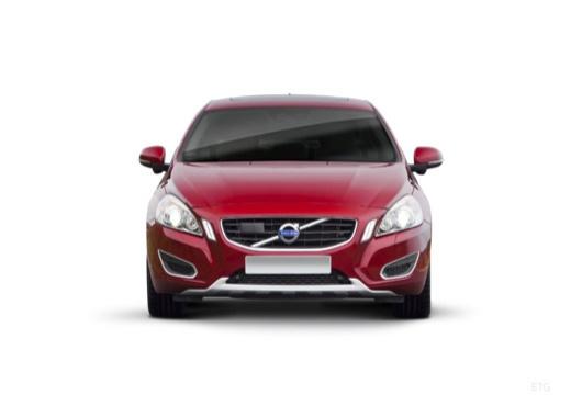 VOLVO S60 IV sedan czerwony jasny przedni
