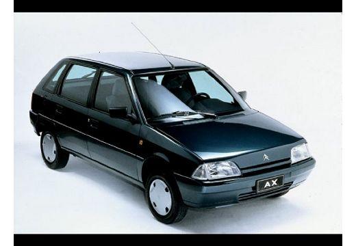CITROEN AX I hatchback czarny przedni prawy