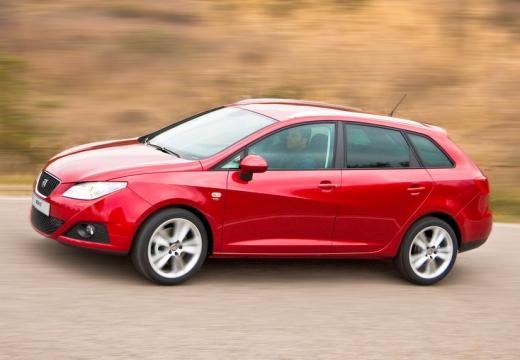 SEAT Ibiza ST I kombi czerwony jasny przedni lewy