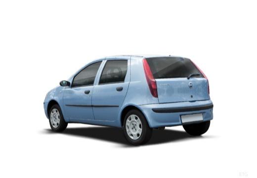 FIAT Punto II II hatchback niebieski jasny tylny lewy