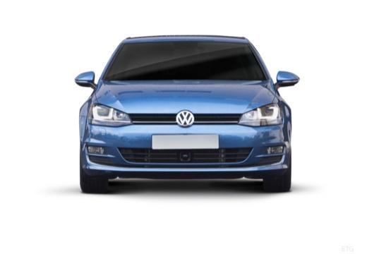 VOLKSWAGEN Golf e- I hatchback niebieski jasny przedni