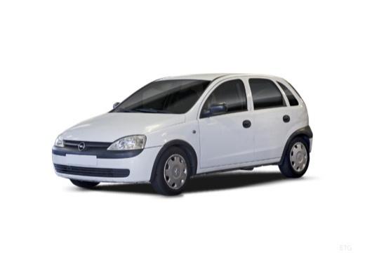 OPEL Corsa C II hatchback biały przedni lewy