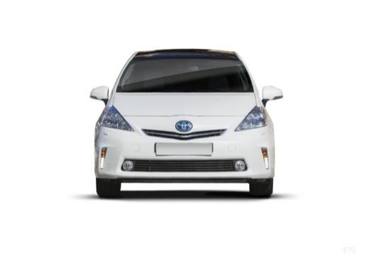 Toyota Prius kombi biały przedni