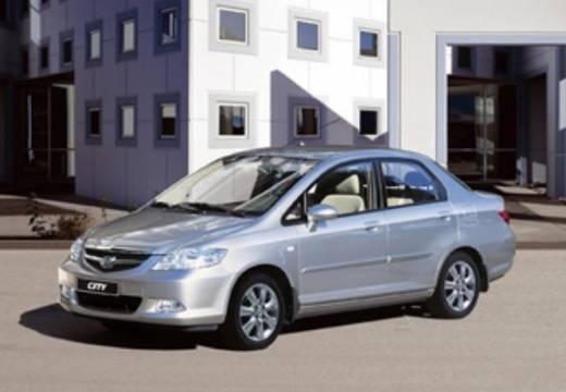 HONDA City sedan silver grey przedni lewy