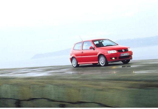 VOLKSWAGEN Polo III II hatchback czerwony jasny przedni prawy