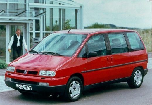 FIAT Ulysse II van czerwony jasny przedni lewy