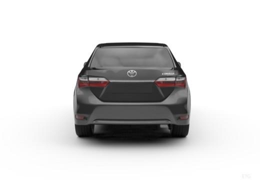 Toyota Corolla IV sedan tylny