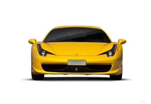 FERRARI 458 I coupe żółty przedni