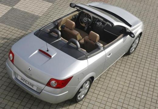 RENAULT Megane II CC kabriolet silver grey tylny prawy