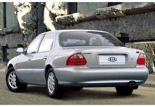 KIA Clarus sedan silver grey tylny lewy