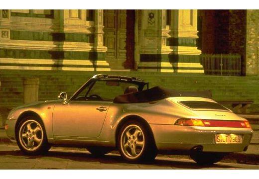 PORSCHE 911 kabriolet tylny lewy