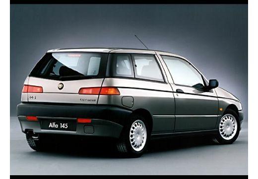 ALFA ROMEO 145 hatchback silver grey tylny prawy
