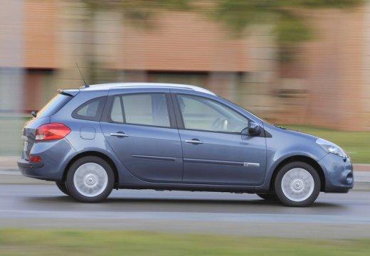 RENAULT Clio III Grandtour II kombi niebieski jasny boczny prawy