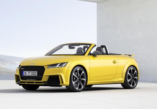 AUDI TT roadster żółty przedni lewy