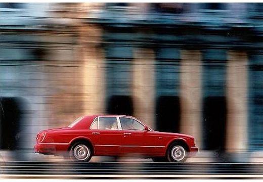 BENTLEY Arnage sedan czerwony jasny boczny prawy