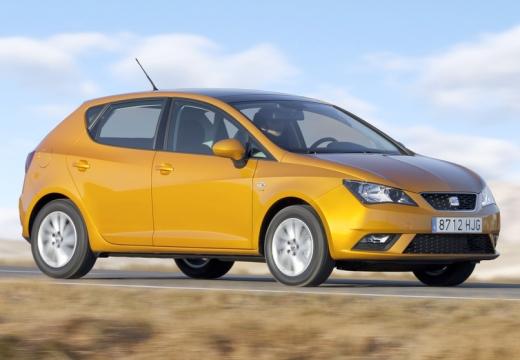 SEAT Ibiza VI hatchback żółty przedni prawy