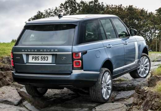 LAND ROVER Range Rover VII kombi niebieski jasny tylny prawy