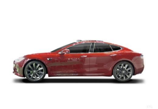 TESLA Model S hatchback boczny lewy