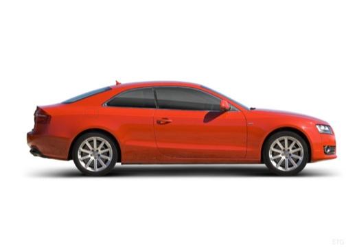 AUDI A5 I coupe boczny prawy