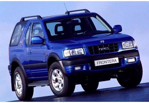 OPEL Frontera kombi niebieski jasny przedni prawy