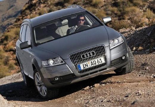 AUDI A6 Allroad kombi silver grey przedni prawy