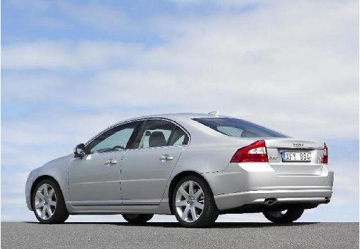 VOLVO S80 III sedan silver grey tylny lewy