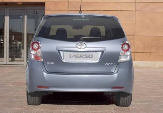 Toyota Verso, универсал, mpv silver grey задняя панель