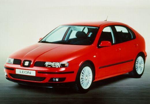 SEAT Leon I hatchback czerwony jasny przedni lewy