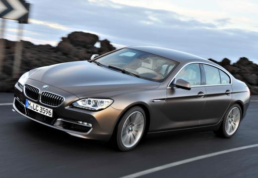 BMW Seria 6 Gran Coupe F06 I sedan silver grey przedni lewy