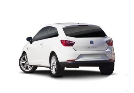 SEAT Ibiza V hatchback biały tylny lewy