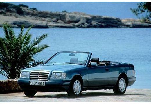 MERCEDES-BENZ 124 kabriolet niebieski jasny przedni lewy