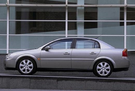 OPEL Vectra C I sedan silver grey boczny lewy