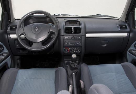 RENAULT Clio II III hatchback czarny tablica rozdzielcza