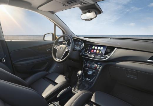 OPEL Mokka X hatchback wnętrze