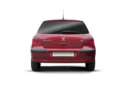 PEUGEOT 307 I hatchback tylny