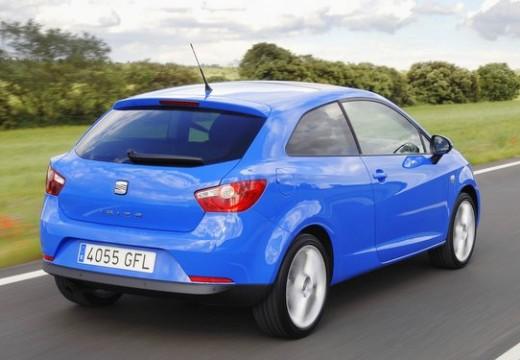 SEAT Ibiza V hatchback niebieski jasny tylny prawy