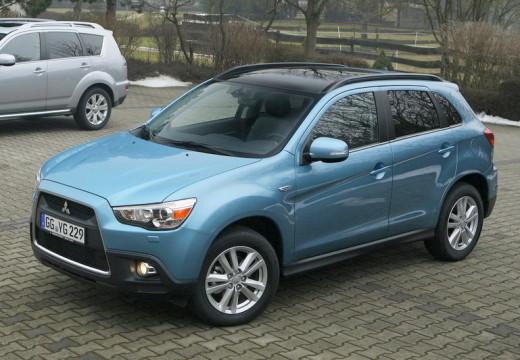 MITSUBISHI ASX hatchback niebieski jasny przedni lewy
