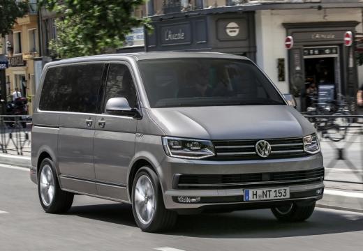 VOLKSWAGEN Multivan T6 kombi silver grey przedni prawy