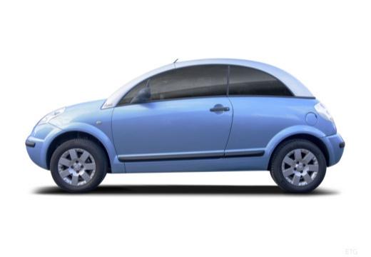 CITROEN C3 Pluriel hatchback boczny lewy