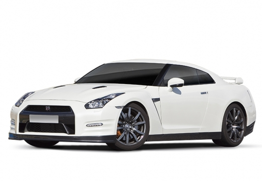 NISSAN GT-R coupe biały