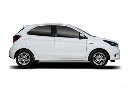 FORD Ka+ hatchback biały boczny prawy