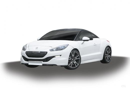 PEUGEOT RCZ II coupe biały