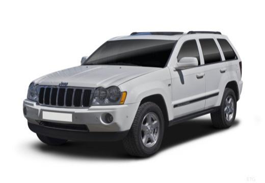 JEEP Grand Cherokee III kombi biały przedni lewy