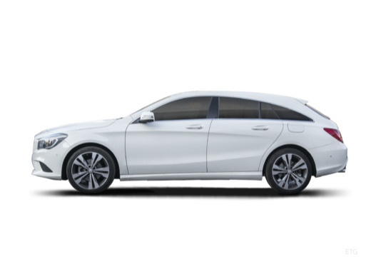 MERCEDES-BENZ CLA 180 d 7G-DCT Urban Kombi Shooting Brake 1.5 109KM (diesel)
