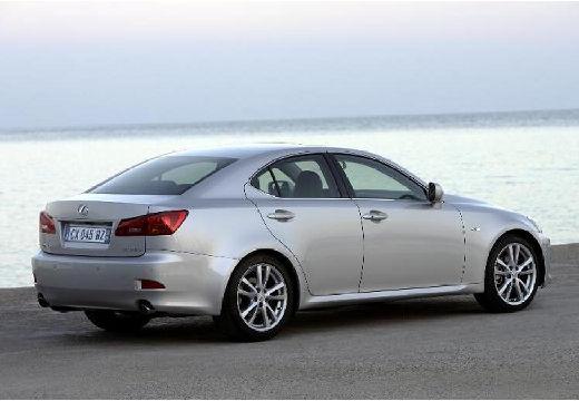 LEXUS IS II sedan silver grey tylny prawy