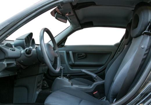 SMART Roadster I roadster czarny wnętrze