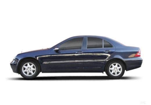 MERCEDES-BENZ Klasa C W 203 I sedan boczny lewy